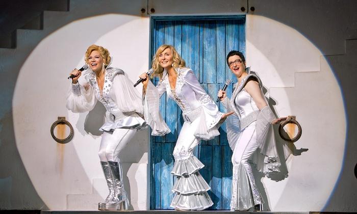 """""""Mamma Mia!"""" - Harlingen Municipal Auditorium: """"Mamma Mia!"""" at Harlingen Municipal Auditorium on June 15 (Up to 39% Off)"""