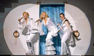 """Mamma Mia!"": ""Mamma Mia!"" at Harlingen Municipal Auditorium on June 15 (Up to 39% Off)"