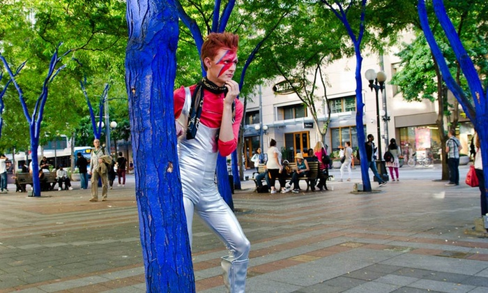 EMP Museum - Lower Queen Anne: $10 for Admission to Bowie Invades: Fashionably Undead Bash at EMP Museum on Saturday, October 12 (Up to $20 Value)