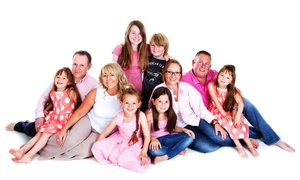 Premier Photography: £15 for a One-Hour Portrait Photoshoot with 10 Prints at Premier Photography