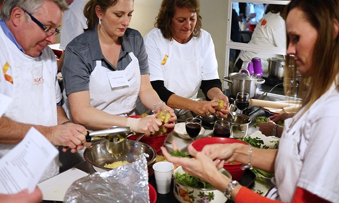 Saga Hill Cooking & Events - Hawthorne: Three-Hour Interactive Summer Cooking Workshop for One or Two at Saga Hill Cooking & Events (Up to 55% Off)