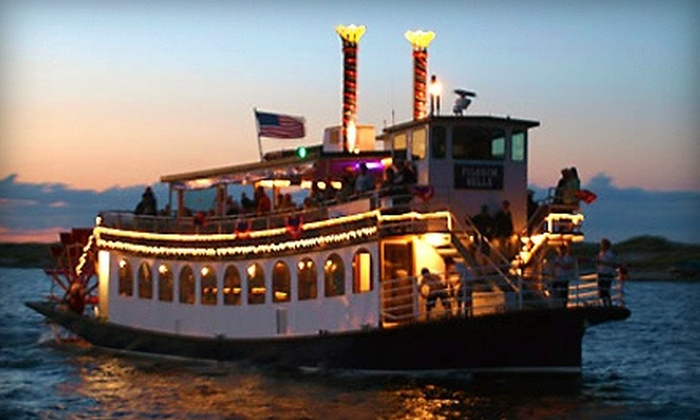 Pilgrim Belle Cruises - Mayflower II State Pier: $25 for a 75-Minute Plymouth Harbor Sightseeing Cruise for Two from Pilgrim Belle Cruises (Up to $36 Value)