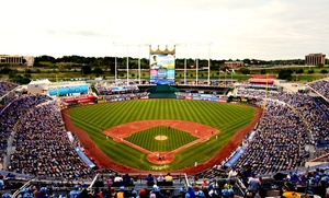 Kauffman Stadium: Kansas City Royals Baseball Game and Hat at Kauffman Stadium on July 6, 7, or 8 (Up to 43% Off)