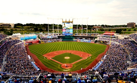 Kansas City Royals Baseball Game and Hat at Kauffman Stadium on July 6, 7, or 8 (Up to 43% Off)