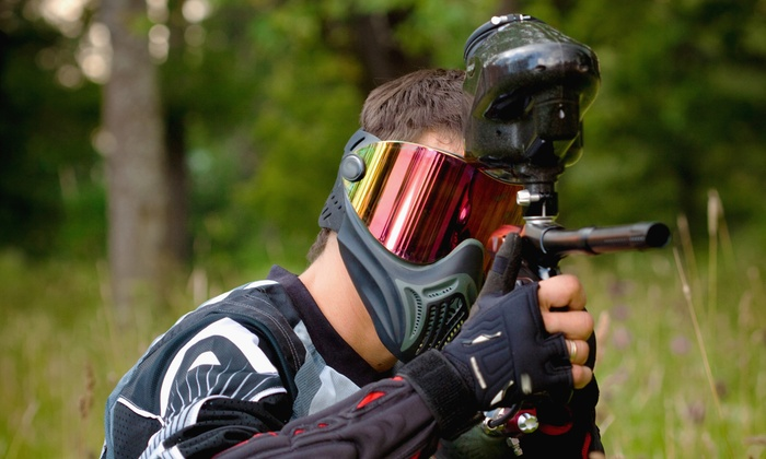 Fox 4 Paintball - Upton: All-Day Paintball with Gear Rental and Ammo for One, Four, or Eight at Fox 4 Paintball (Up to 55% Off)
