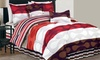 Duck River Textile Comforter Set: Duck River Textile 6-Piece Comforter Set in Queen or King. Multiple Styles Available. Free Shipping.