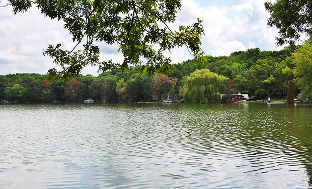 TripAlertz wants you to check out Up to 3-Night Stay for Up to Six in a Deluxe Cabin at Blackhawk Camping Resort in Milton, WI  Family-Friendly SE Wisconsin Campground on Lakes - Lake Campgrounds in SE Wisconsin