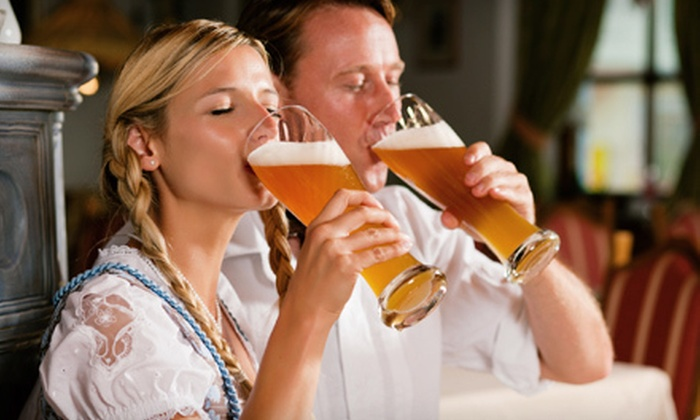 Deutsches Haus - River Town: Oktoberfest Outing for Two or Four from Deutsches Haus (58% Off)