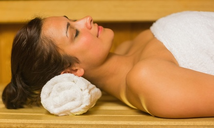 Three or Five Sauna Sessions at Sunshine Kate's Nutrition and Sauna at Shore Massage (Up to 63% Off)