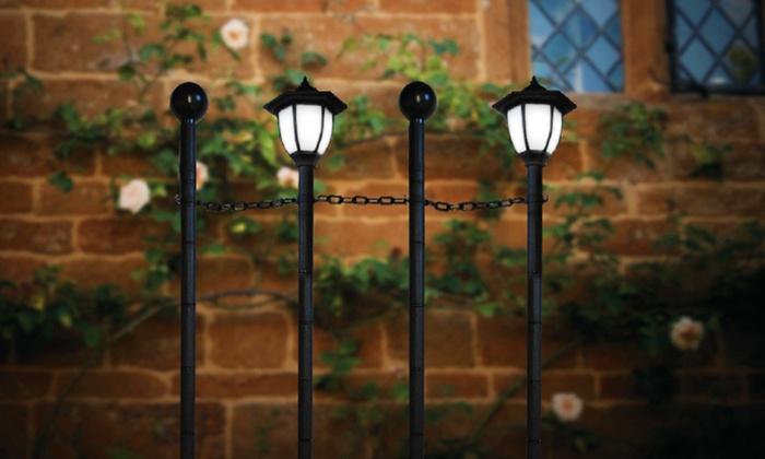 Gardman Solar Wall Lights : Boarder Solar Lights Groupon Goods