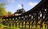 BC Forest Museum - BC Forest Discovery Centre: Museum Visit for Two Adults or Family of Up to Two Adults and Three Kids at BC Forest Discovery Centre (Up to 51% Off)