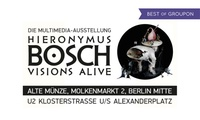 """2 Tageskarten für die """"Bosch Alive""""-Ausstellung an verschiedenen Terminen 2017 in der Alten Münze Berlin (32% sparen)"""