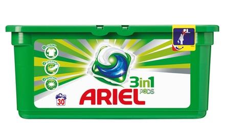 180 ou 360 Tablettes Ariel Regular 3 en 1