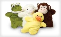 GROUPON: $14.99 for Spa Comforts Snuggles Animals 2-pack Aromthatherapy Warm Snuggle Buddies