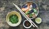 Fuji - Parma: Cena thailandese di 4 portate con calice di vino per 2 persone al ristorante Fuji (sconto fino a 36%)