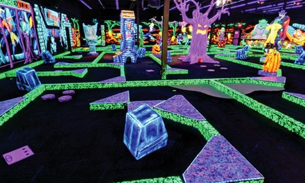 $18 for Four Rounds of Indoor Miniature Golf at Monster Mini Golf (Up to $39.96 Value)