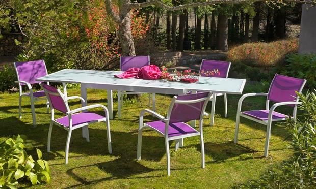 Salon de jardin Honfleur | Groupon Shopping
