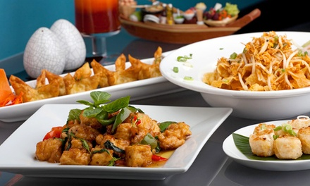 Three-Course Thai Meal for Two or Four at Lemon Grass Worthing (Up to 43% Off)