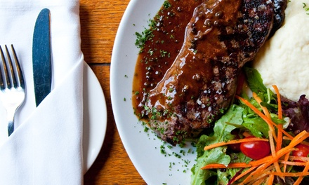 Three-Course Prix-Fixe Meal for Two or Four at Hamilton Street Grill (Up to 48% Off)