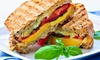 Noodles Panini - Beverly Heights: Italian Dinner for Two or Four or Lunch for One at Noodles Panini (Up to 44% Off)