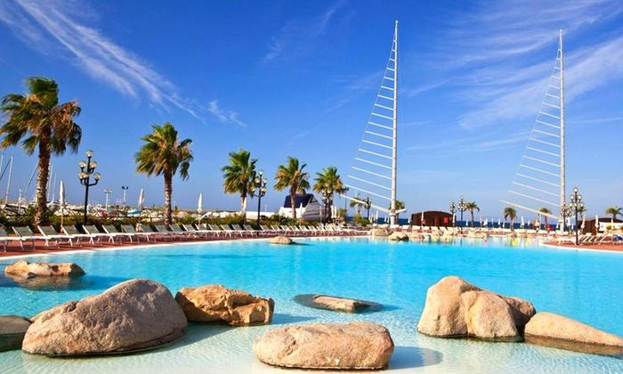 Sardinien 7 n mit vp privater strand und wellness im 4 for Design hotels am meer