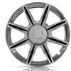 Rust-Resistant 8-Spoke Wheel Covers (4-Count)