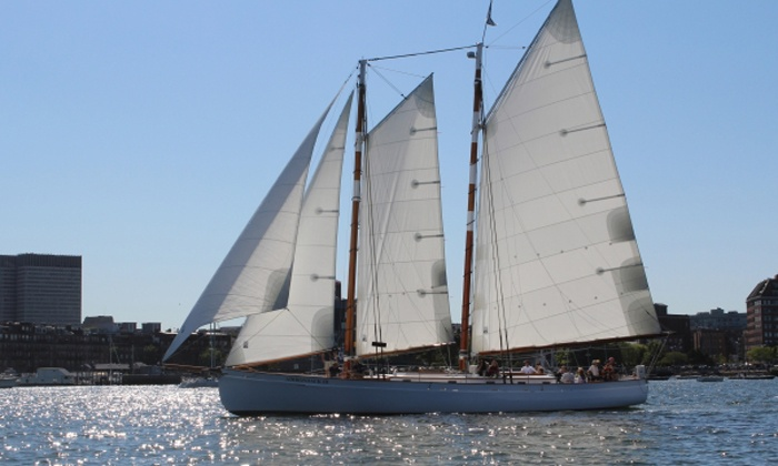 Classic Harbor Line - Downtown Boston: Schooner Sail for Two from Classic Harbor Line (Up to 23% Off). Five Options Available.