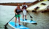 Charleston Outdoor Adventures - Folly Beach: $17 for a Three-Hour Single Standup-Paddleboard Rental from Charleston Outdoor Adventures ($35 Value)