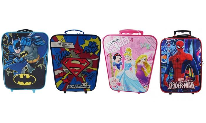 Disney & Marvel Wheeled Suitcases   Groupon Goods