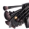 Makeup Brush Set with Case (25-Piece)