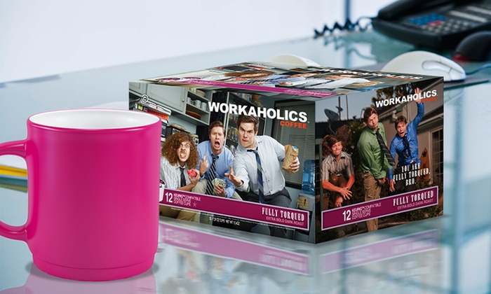Workaholics Single-Serve Coffee 36-Pack: Workaholics Single-Serve Coffee 36-Pack. Multiple Flavors Available.