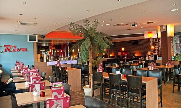 riva caf bar restaurant private sale deal des tages groupon private sale. Black Bedroom Furniture Sets. Home Design Ideas
