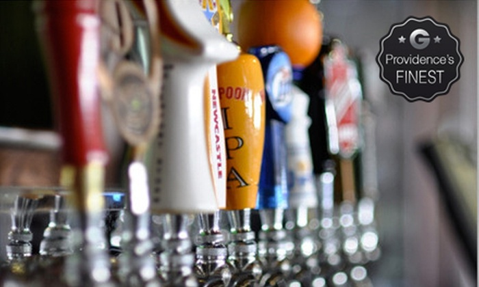 Lucky's Bar & Grill - East Providence: Pub Food and Drinks at Lucky's Bar & Grill (Up to 57% Off). Four Options Available.