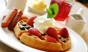 Broadway Joe's Waffles and Eatery: Classic Diner Food at Broadway Joe's Waffles and Eatery (Up to 47% Off). Two Options Available.