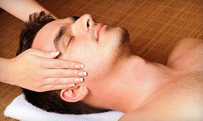 Masters Salon - Granger: Three Men's Haircuts, 50-Minute Massage, or Men's Facial at Masters Salon in Granger (52% Off)