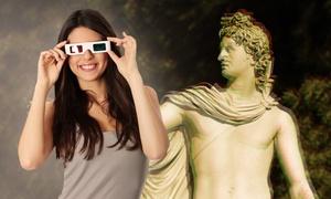 Museum 3. Dimension: Eintritt für Zwei oder Vier inkl. Museumsführer und 3D-Brillen für das Museum 3. Dimension ab 12,50 €