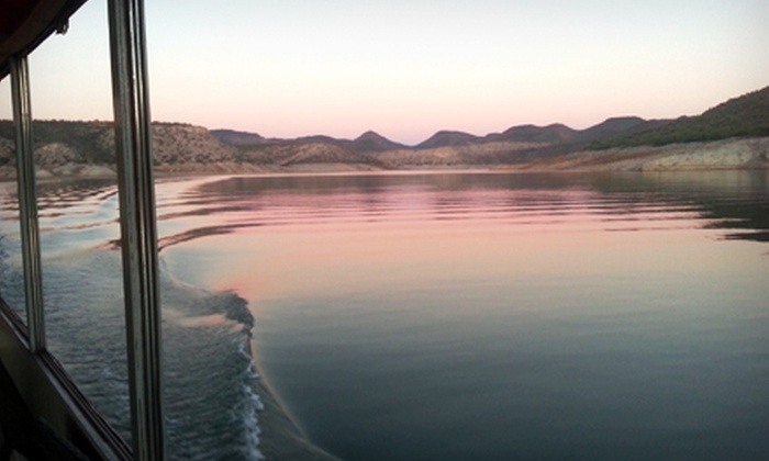 Lake Pleasant Nautical Adventures - Peoria: BYOB Sunset Boat Tour for Two or Four or a Private Tour for 20 from Lake Pleasant Nautical Adventures (Up to 55% Off)