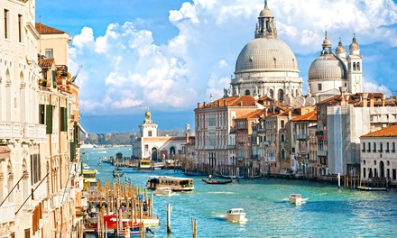 ✈ Rome, Florence and Venice: 6 or 9 Nights at a Choice of Hotels with Flights*