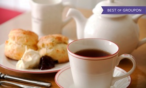 Chado Tea Room: Blooming Tea Tasting with Scones for Two or Four at Chado Tea Room (Up to 38% Off)