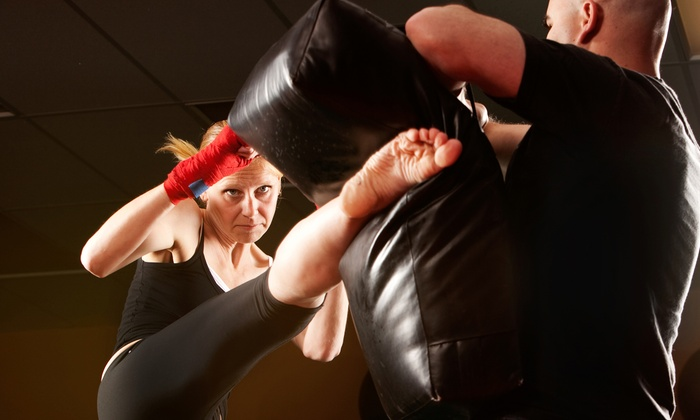 Fastkix - Spotswood: One Month of Unlimited Tae Kwon Do or Kickboxing Classes at Fastkik (Up to 80% Off)