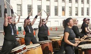 Emeryville Taiko: One, Five, or Ten Classes, or Live Performances at Emeryville Taiko (Up to 46% Off). Five Options Available.