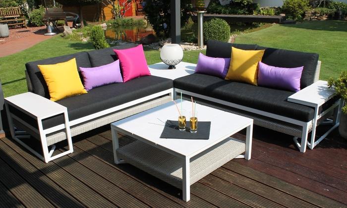 leco alu garten lounge groupon goods. Black Bedroom Furniture Sets. Home Design Ideas