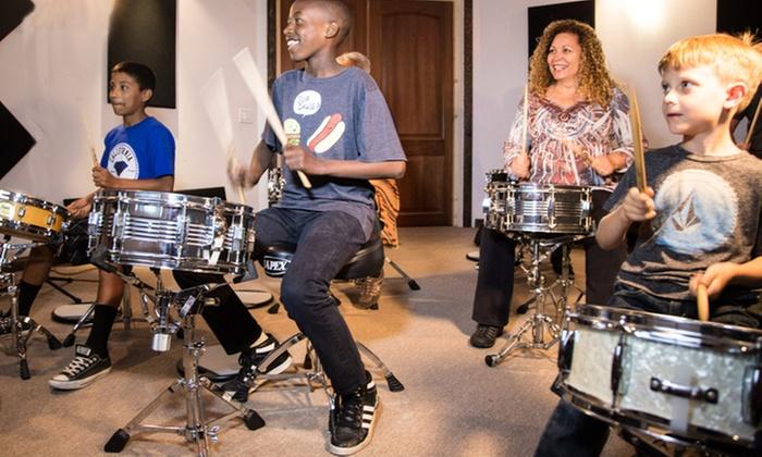 Drum Brigade School - Townsite: 60-Minute Musical Instrument Lesson at Drum Brigade School (45% Off)