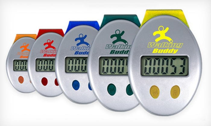 Walking Buddy Pedometer: $10 for a Walking Buddy Pedometer ($24.95 Value). Five Colors Available. Shipping Included.