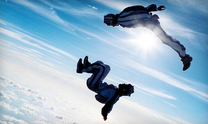 West Michigan Skydiving Academy - Multiple Locations: Solo Skydiving for Two or Three with Groundschool and Equipment at West Michigan Skydiving Academy (Up to 56% Off)