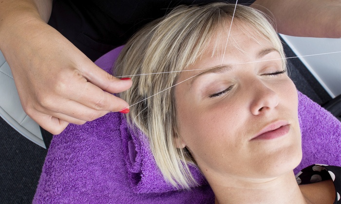 ROOTZ - Green Hills: Threading for the Eyebrows or Threading Packing for the Eyebrows, Lip, and Chin at Rootz  (Up to 50% Off)