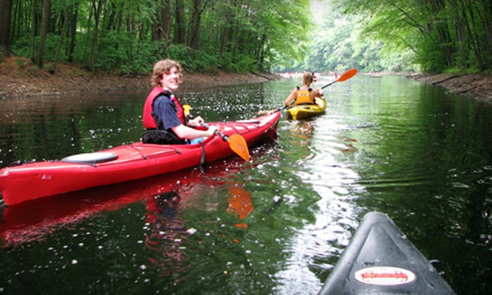 Boating in Boston - Multiple Locations: Unlimited Boating Season Pass or $ 29.99 for $ 60 Worth of Canoe and Kayak Rentals from Boating in Boston