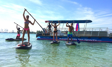 $177 for Two-Hour Guided Paddleboard Cruise and Tour for Six From Kustom Water Sports ($354 Value)