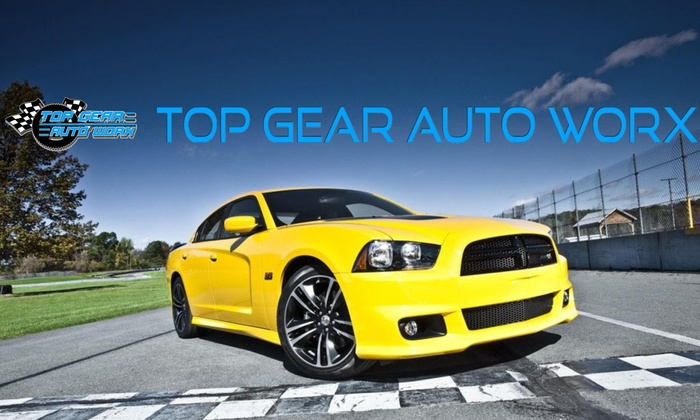 Top Gear Auto Worx - Multiple Locations: Up to 79% Off Oil Changes and Auto package  at Top Gear Auto Worx