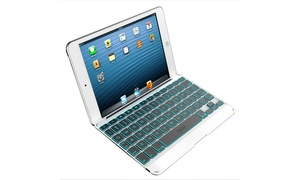Zagg Folio Case With Backlit Bluetooth Keyboard For Apple Ipad Mini